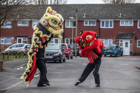 Lunar new year celebrations around the world in pictures