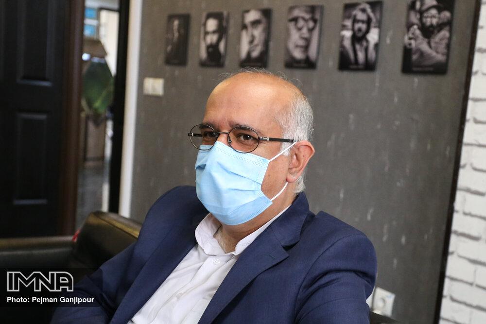 مدیررسانه ای استقلال از خبرگزاری ایمنا بازدید کرد + عکس