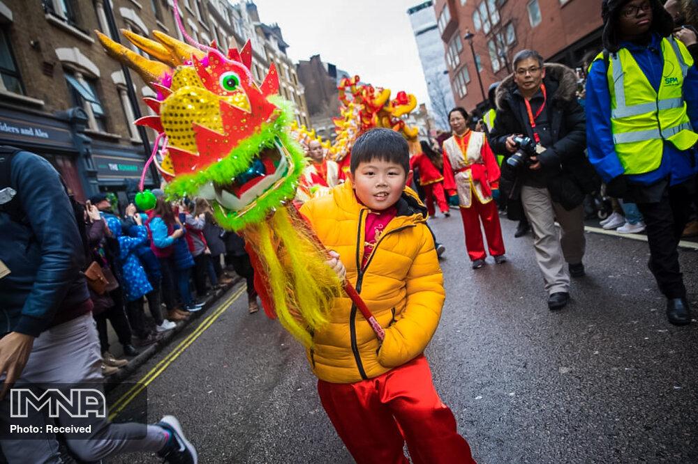 آغاز سال نو چینی در سراسر جهان