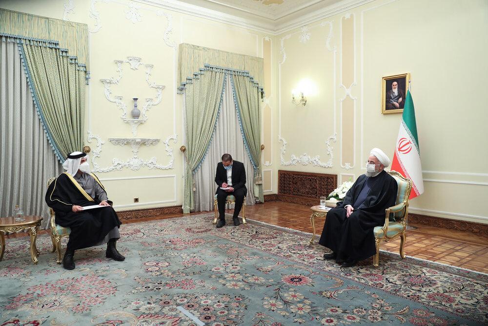 امنیت و صلح با همکاری کشورهای منطقه تامین میشود