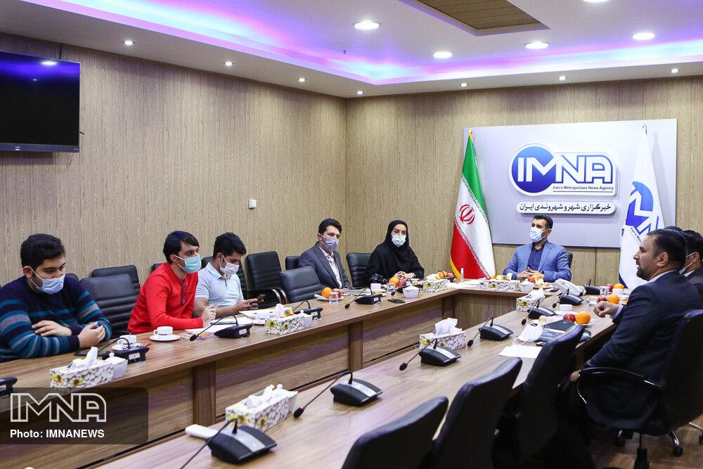 بازدید مدیرکل ورزش و جوانان استان اصفهان از ایمنا