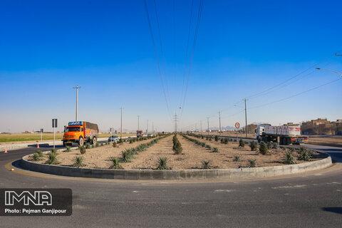 """پروژه خیابان های""""تابان"""" و """"آسمان"""" و تقاطع آفتاب"""