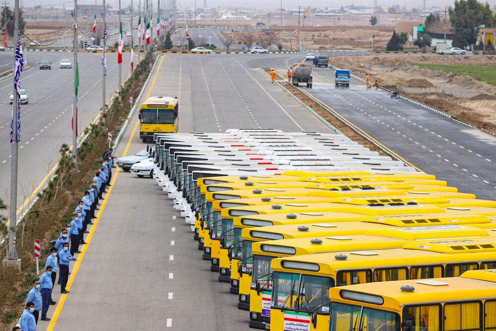 ۱۴ دستگاه اتوبوس جدید به ناوگان حمل و نقل عمومی کرج اضافه میشود