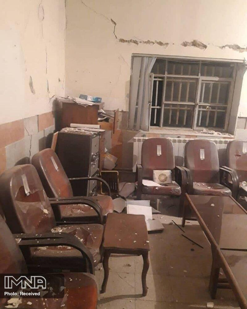تخریب ۶ فضای آموزشی در زلزله دنا/آمادگی برای اسکان زلزلهزدگان