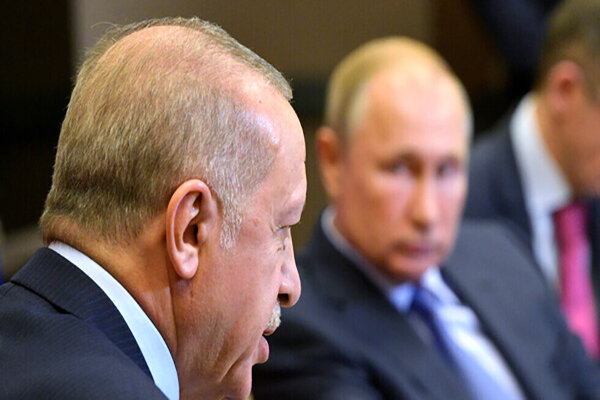 گفتوگوی تلفنی ولادیمیر پوتین و رجب طیب اردوغان