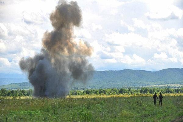 شهادت فرمانده گروه تفحص در مرز مهران به دلیل انفجار مین