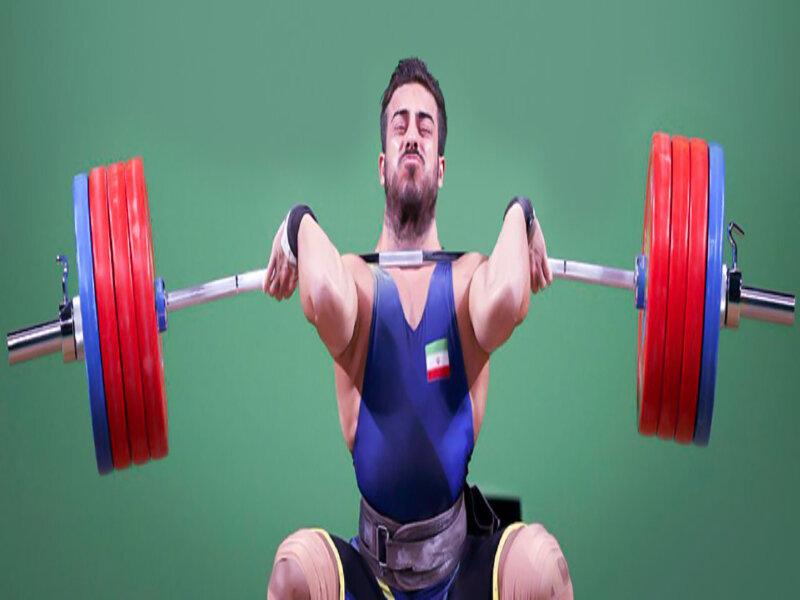 قهرمانی کیانوش رستمی در لیگ برتر وزنهبرداری