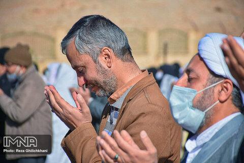 اقامه نماز باران در شهر نجف آباد