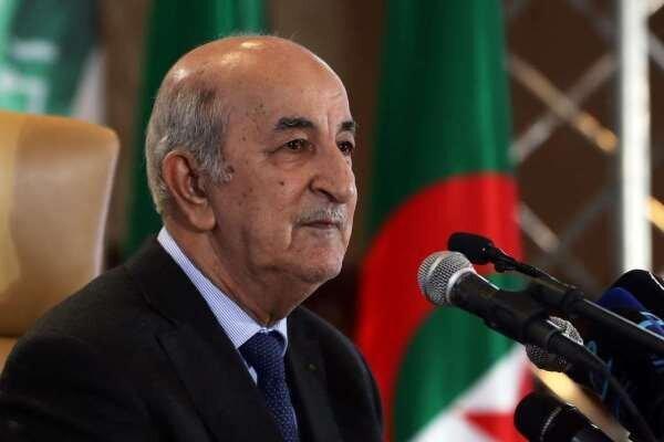 رئیس جمهور الجزایر پارلمان این کشور را منحل کرد