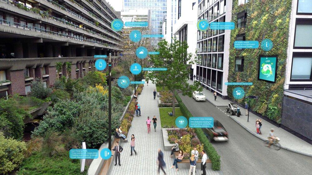 نقش مهندسی هوشمند در مدیریت فضاهای عمومی