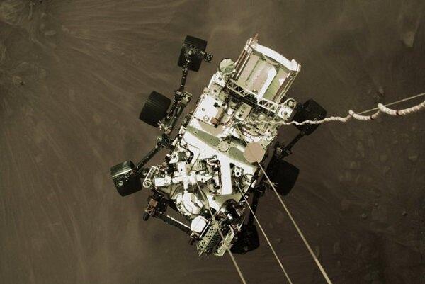 تصاویر تازه مریخنورد استقامت از مریخ منتشر شد