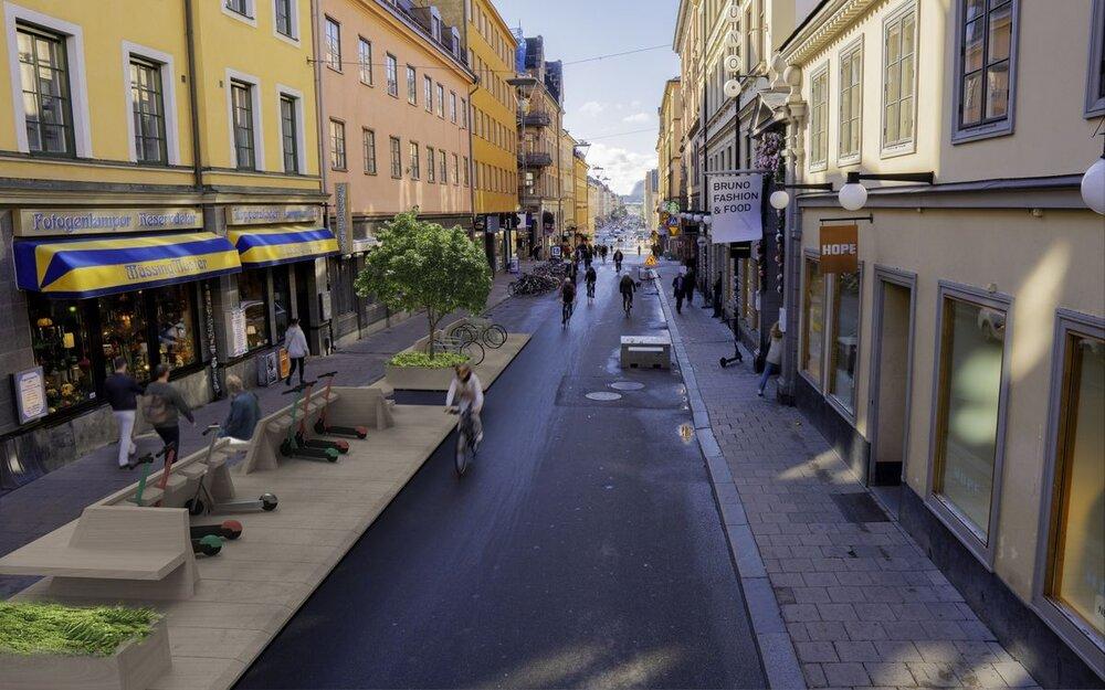 آغاز جنبش شهرهای یک دقیقهای در سوئد