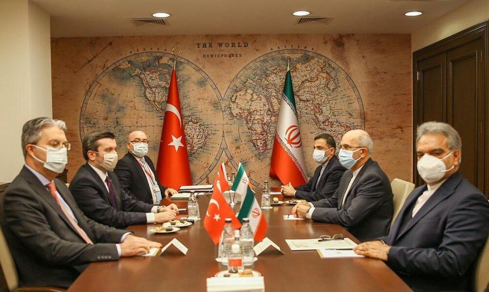 دیدار پناهی با معاون وزیر امور خارجه ترکیه