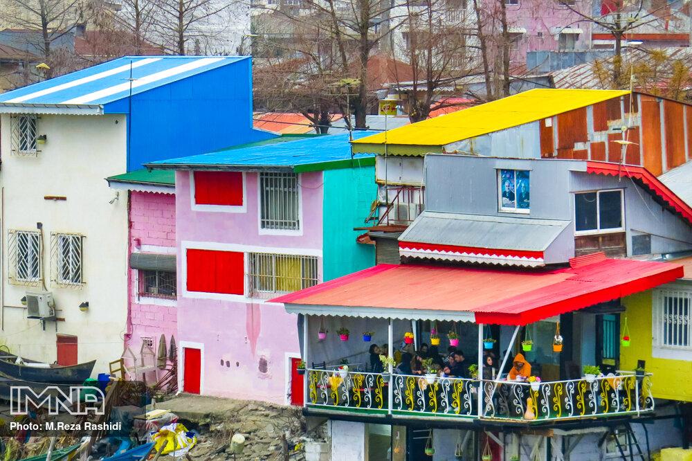 هویت رنگها در شهر نیلوفرهای آبی