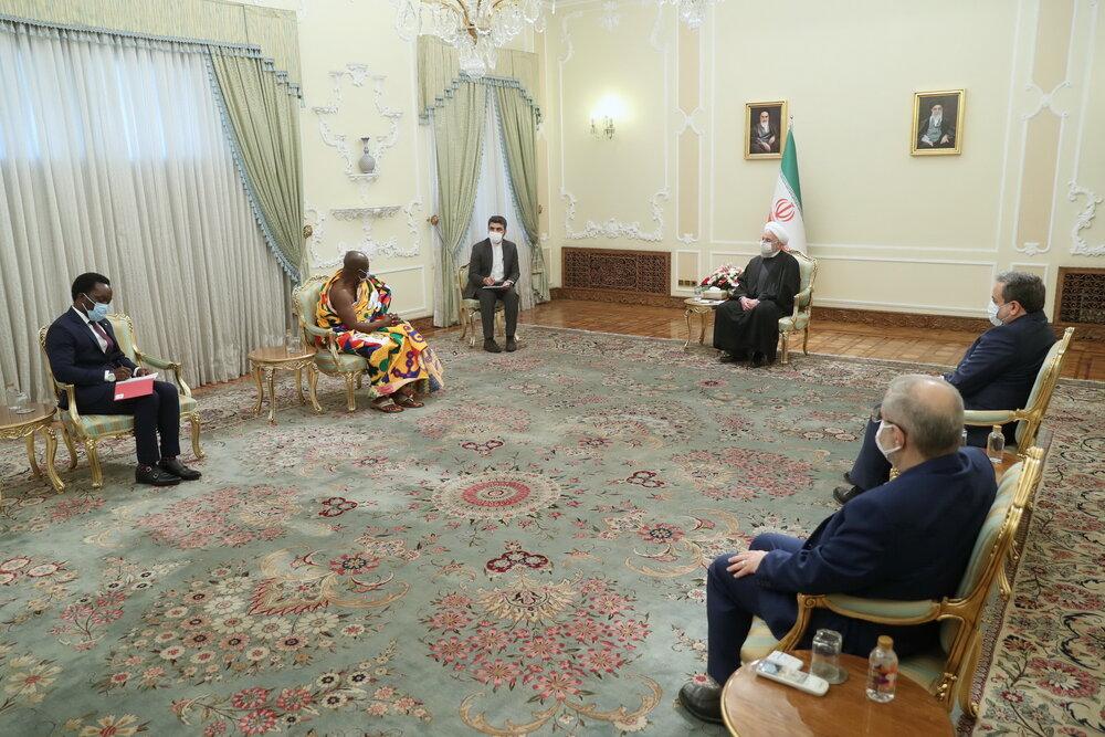 روابط ایران و غنا باید در عرصههای مختلف بیش از پیش گسترش یابد