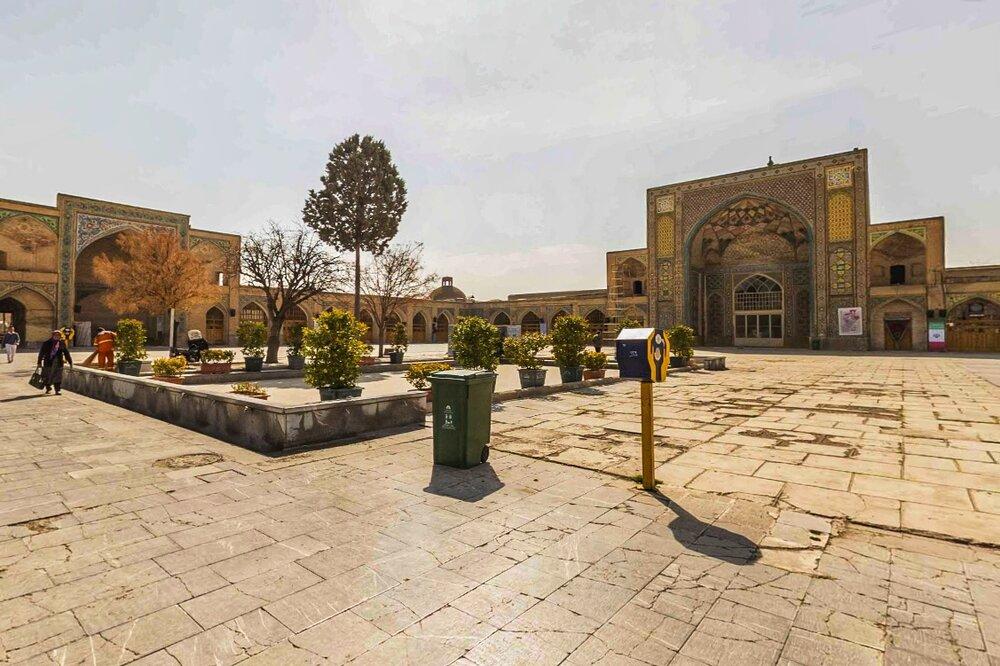 ساماندهی و بهسازی کف و جداره بوستان ملی باراجین قزوین