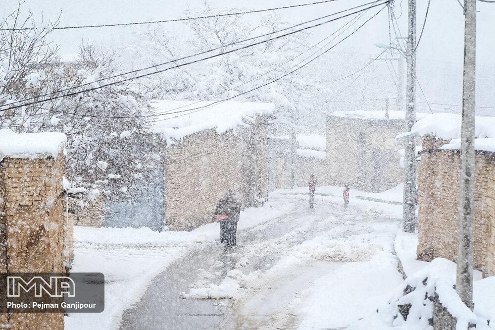 بارش باران و برف در کشور
