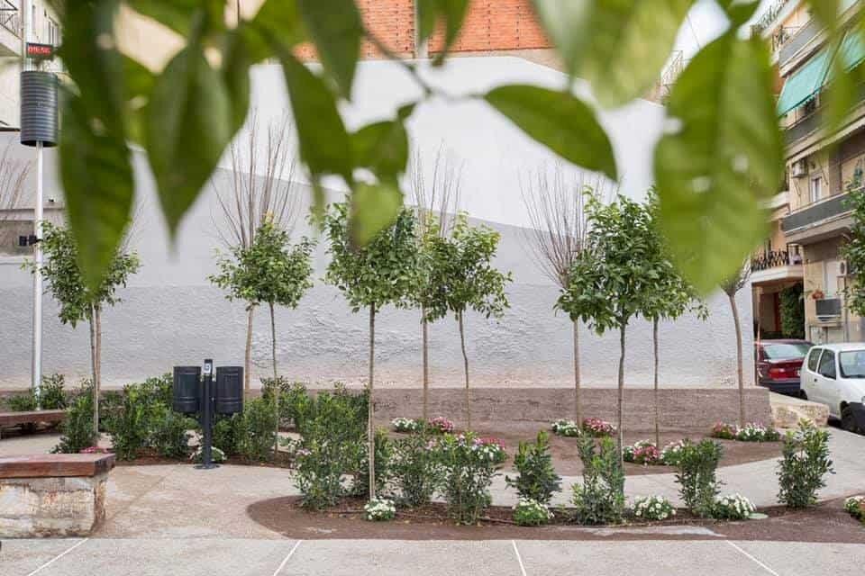 احداث پارکهای جیبی برای جبران کمبود فضای عمومی آتن