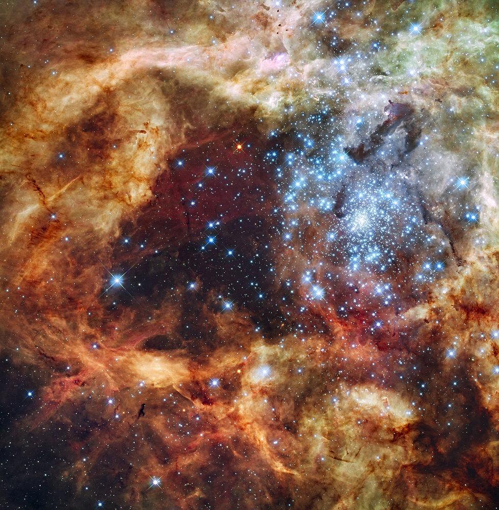 خوشههای ستارهای که میتوانستند کهکشان باشند
