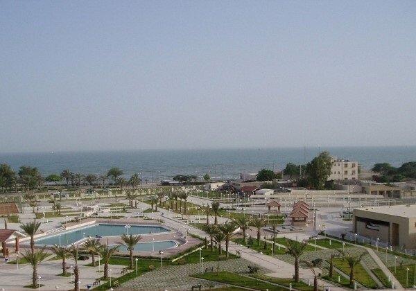 احداث بوستان ساحلی صدف در بندرعباس