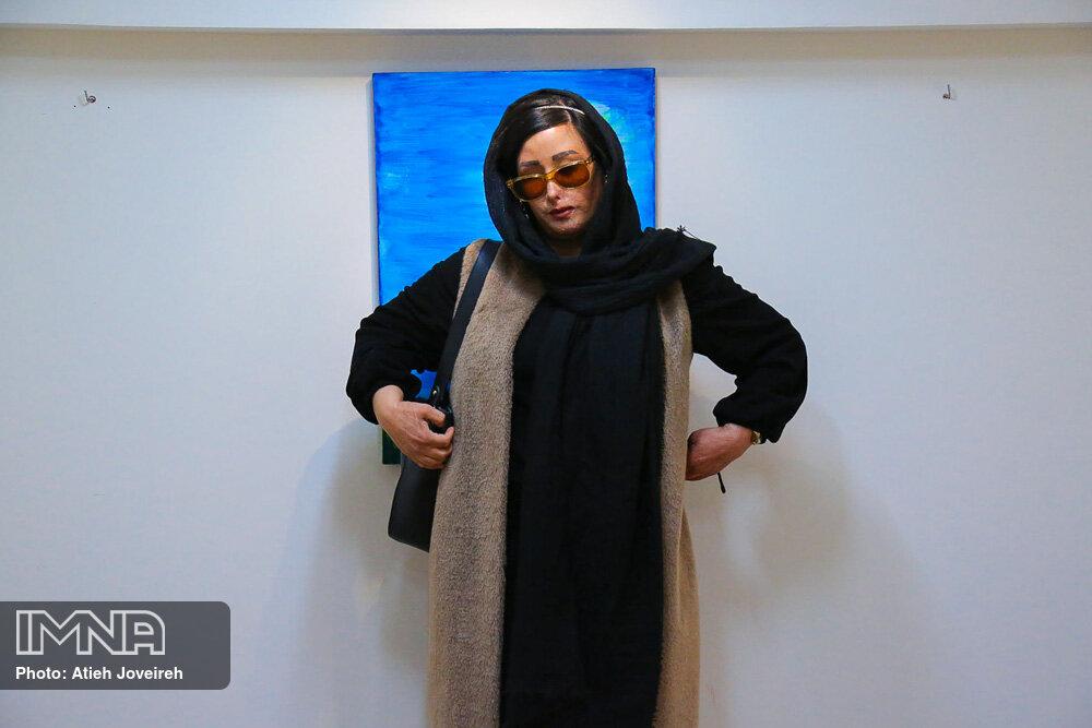 نمایشگاه نقاشی هنرمند روشندل