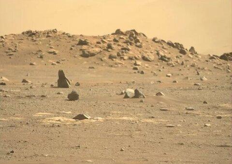 """انتشار جدیدترین تصاویر از مریخ نورد """"ژورونگ"""""""