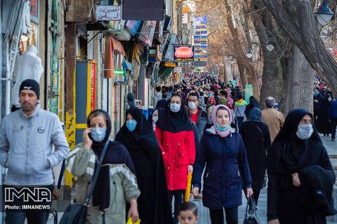 ۱۹ شهرستان اصفهان در وضعیت قرمز کرونا قرار گرفت