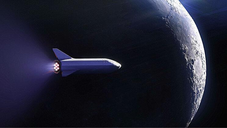میلیاردر ژاپنی ۸ نفر را رایگان به ماه میبرد