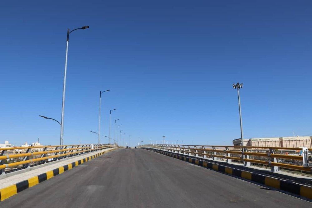 تقاطع غیر همسطح قهجاورستان در شرق اصفهان به بهرهبرداری رسید