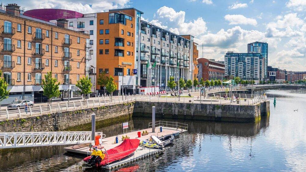 زیباسازی و بازسازی کوچههای تاریخی ایرلند