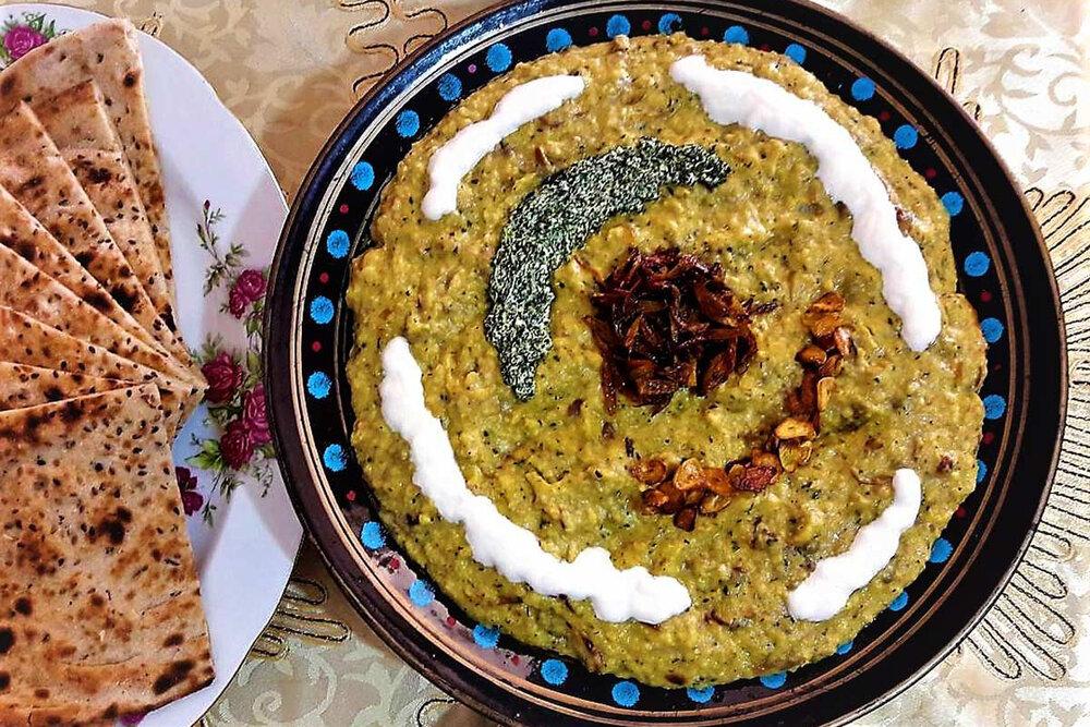 غذاهای سنتی اصفهان شناسانده شود
