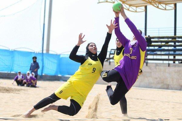 اصفهان قهرمان هندبال ساحلی زنان شد
