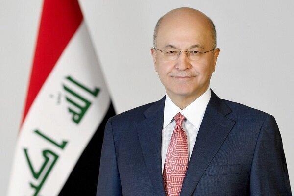 برهم صالح: ثبات عراق بخش جداییناپذیر از امنیت منطقه است