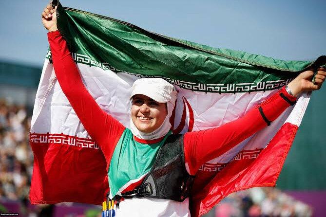 کسب مدال نقره قهرمانی جهان توسط زهرا نعمتی