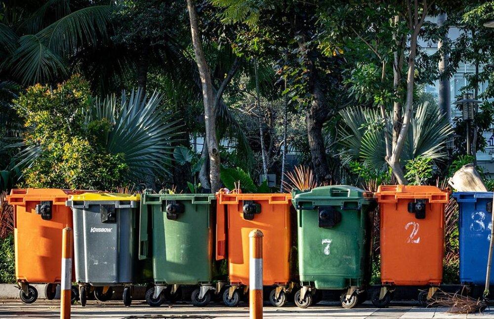 گندزدایی مکانیزه ۷۳۸ هزار سطل زباله در سمنان