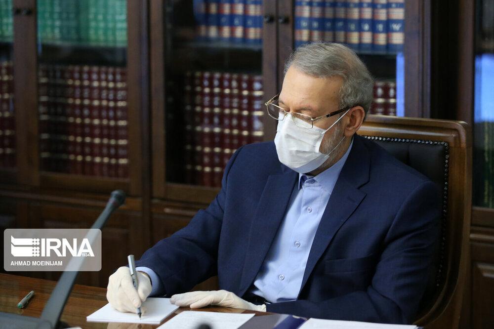 لاریجانی درگذشت پدر رییس دانشگاه تهران را تسلیت گفت