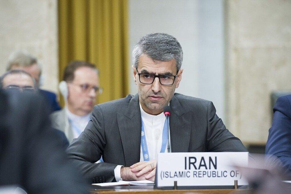 پاسخ قاطع ایران به اتهام های بی اساس رژیم صهیونیستی در شورای حقوقبشر