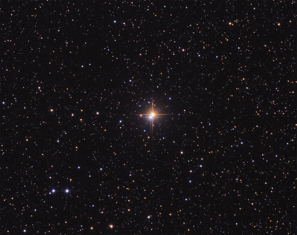 تصویری از مرکز یک خوشه ستاره ای