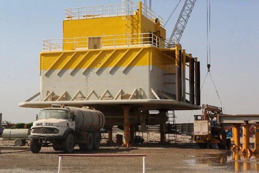 نخستین گوی شناور پایانه نفتی جاسک نصب شد