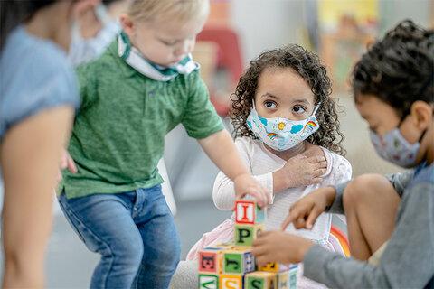 بازی؛ راه یادگیری ایمنی برای کودکان