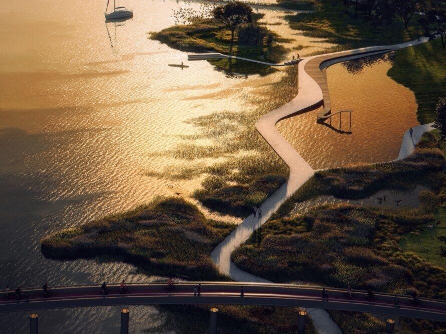 احداث پارک تصفیه آب در هلند