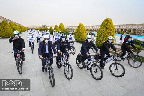 رونمایی از پلیس دوچرخه سوار