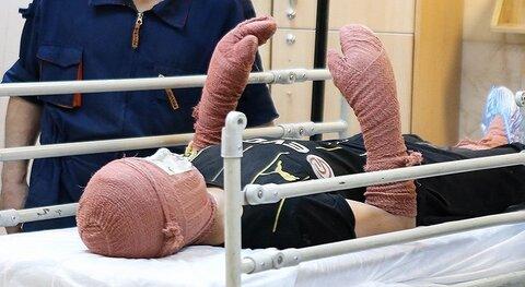 تعداد مصدومان در روز چهارشنبه سوری تا ساعت ۲۲ به ٦٠٠ نفر رسید