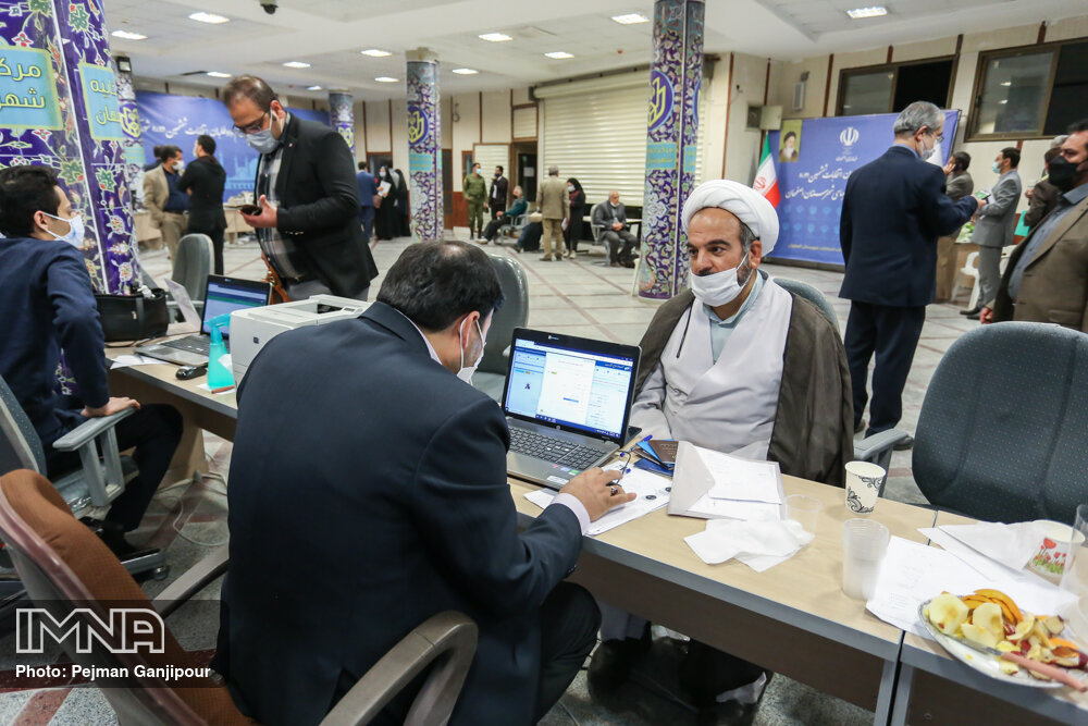 آمار نهایی ثبتنام انتخابات شوراهای شهر لنجان