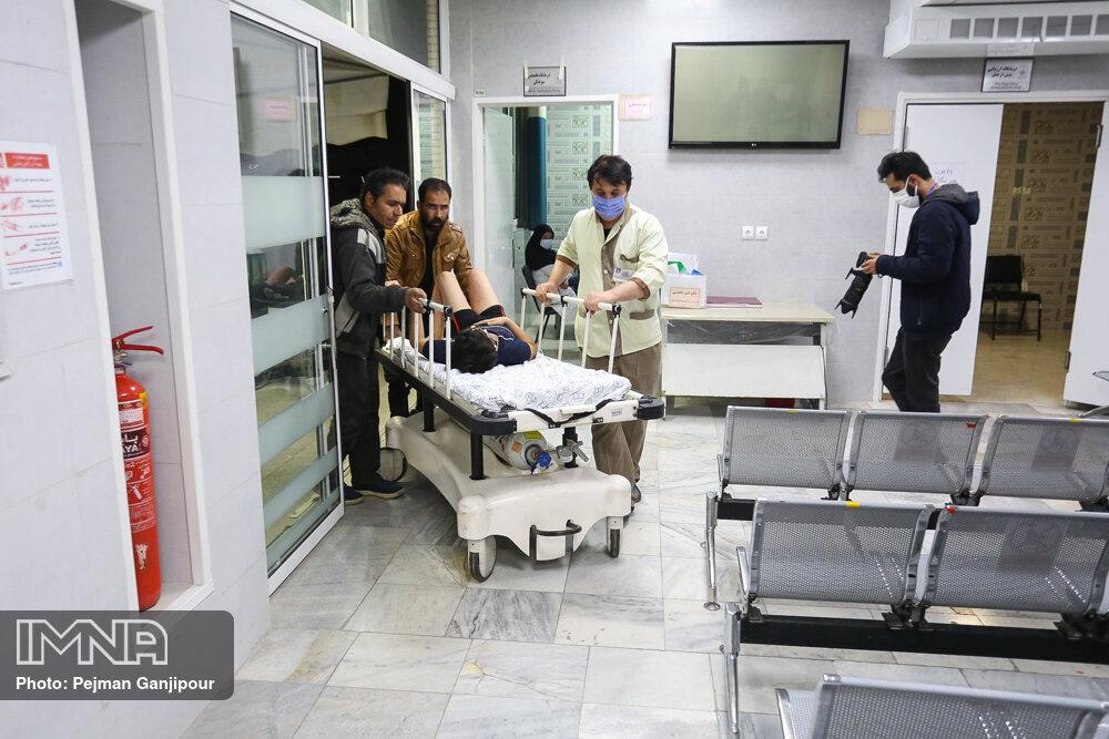 افزایش ۳۰ درصدی حوادث چهارشنبه سوری در اصفهان/ ۵۹ مصدوم در چهارشنبه آخر سال