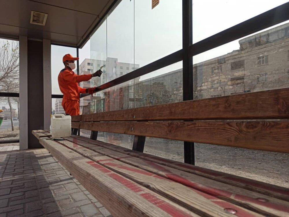 جمعآوری ۹۱۳ مورد مواد آتشزا از سطح شهر مشهد