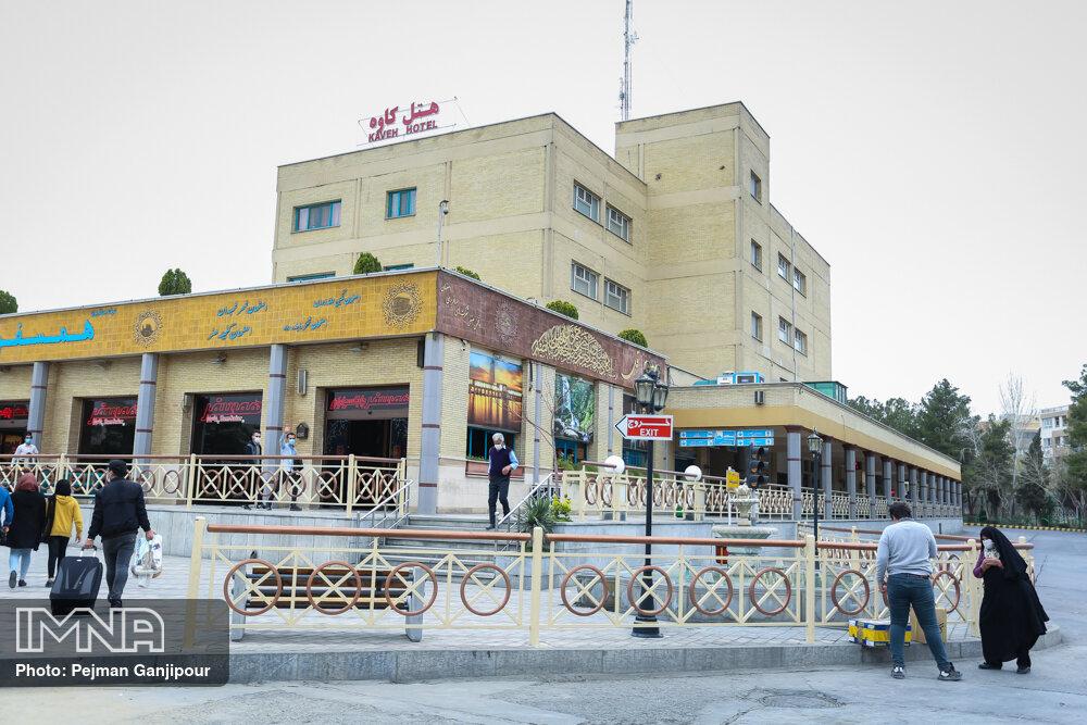 جابه جایی ۱۵۰ هزار مسافر از طریق پایانههای مسافربری اصفهان