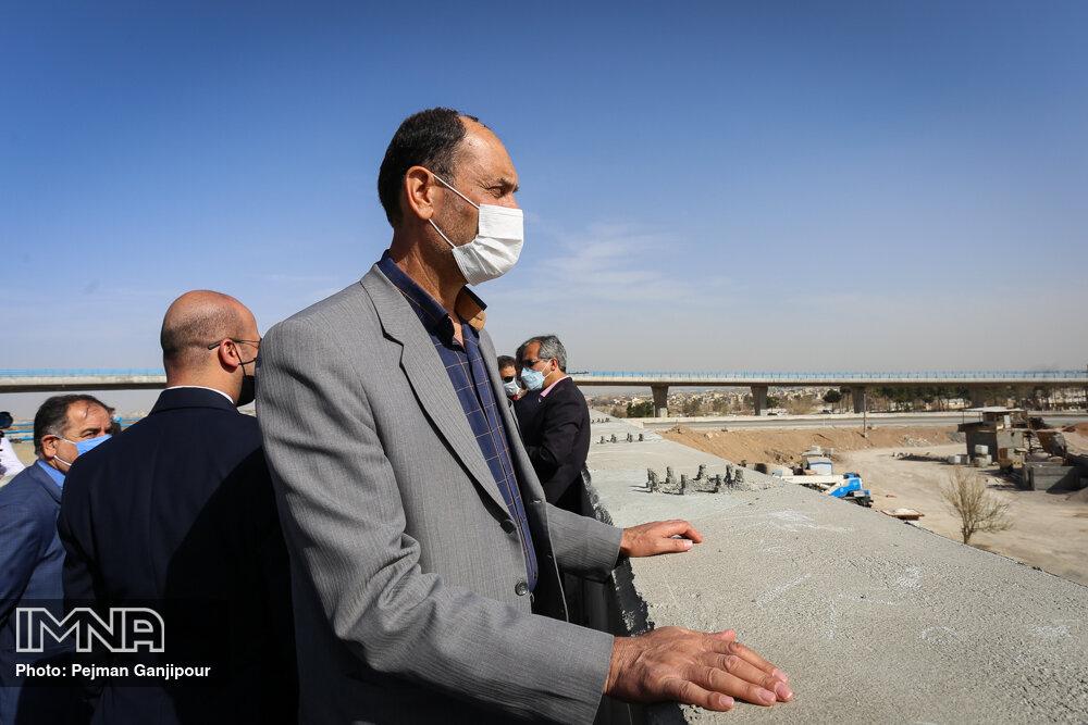 پروژههای عمرانی اصفهان بدون وقفه اجرا میشود