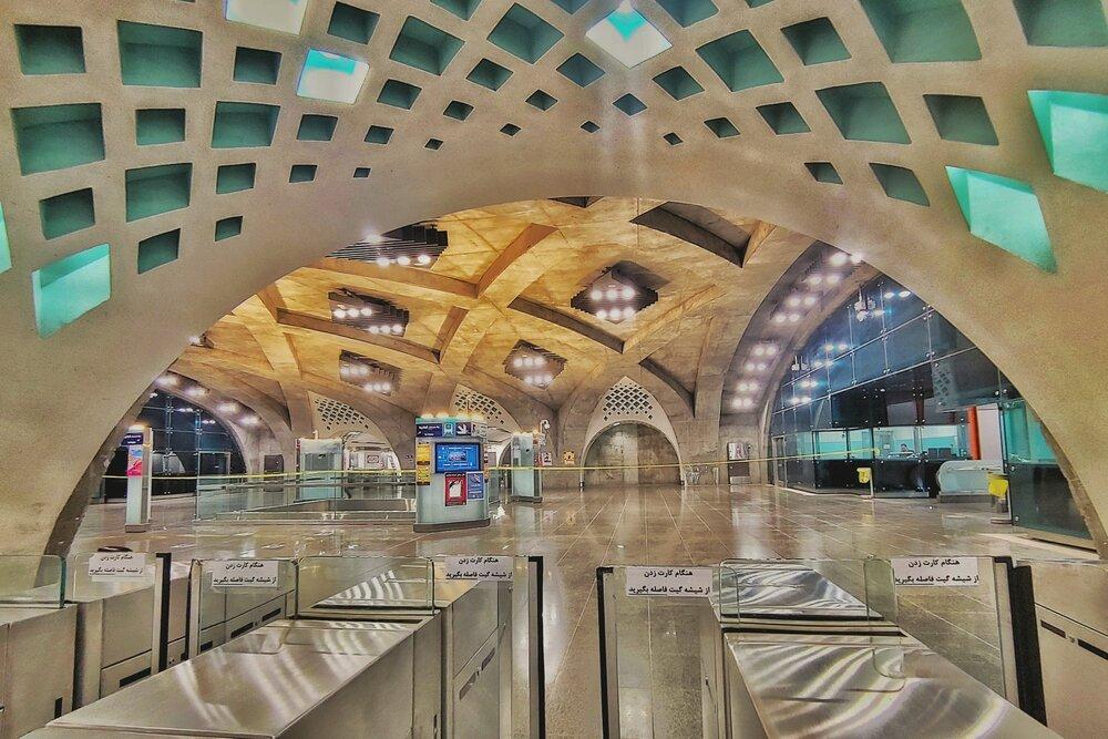 دلبری متروی اصفهان در توییتر
