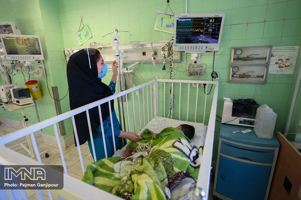روزانه ۱۰ کودک در بیمارستان امام حسین بستری میشوند/ روند صعودی کرونا دلتا در کودکان
